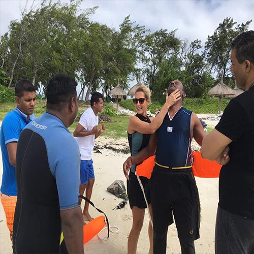 Initiation au sauvetage aquatique